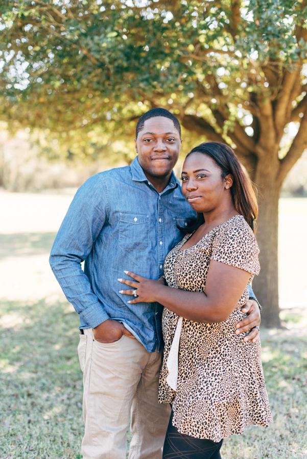 Bear Creek Park Houston Texas Engagement Photography Session