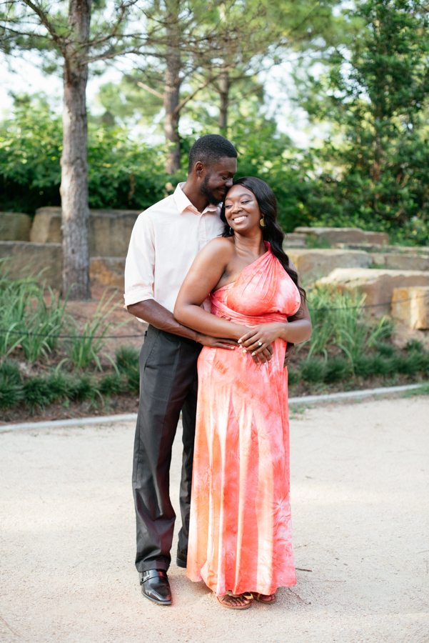 Engagement Photography at Marvin Taylor Trail Hermann Park Houston