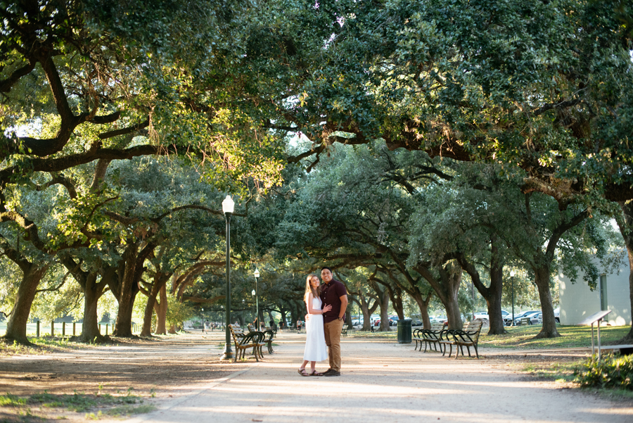 Marvin Taylor Exercise Trail Engagement Session Houston Texas