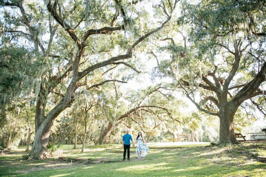 Brazos Bend State Park Engagement Session Houston Photographer